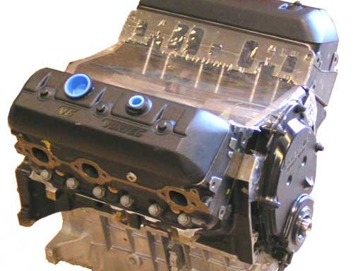 Mercruiser/Volvo Penta 4.3 long block