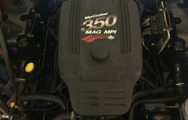 Kompletni motor Mercruiser MAG 350 MPI – samo 2 uri delovanja
